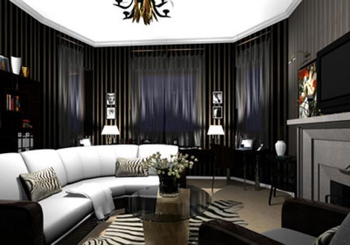 gothic-living-room